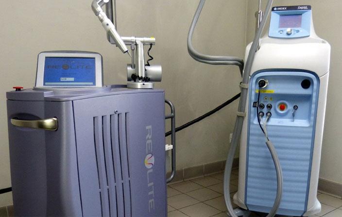 Les lasers pour le traitement des rougeurs de la peau